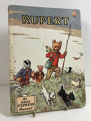 Rupert Bear Annual The Daily Mail 1955 Alfred Bestall