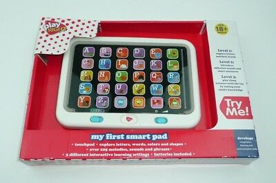 My First Smart Pad - 18+ Months Baby Talking Tablet Buttons Alphabet Learning