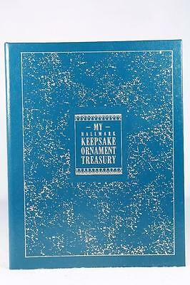 Hallmark My Keepsake Ornament Treasury-Book Pages from 1973 to 1988!