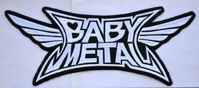 Babymetal Patch Embroidered Various Sizes sew on Aufnäher パッチ baby metal