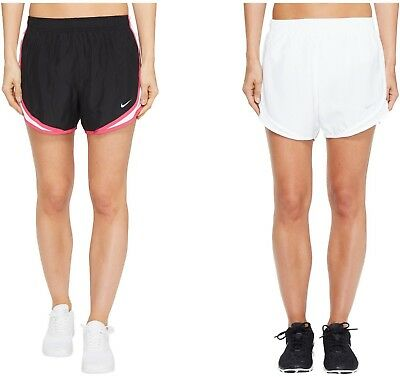 658dcb1f4508 Nike Running Shorts Womens Dry Tempo Performance Dri-FIT Athletic Logo  Bottoms