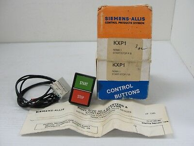 Siemens - Allis KXP1 NEMA 1 Start/Stop P.B. Switch.