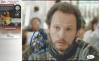 Actor Comedian Billy Crystal autographed 8x10 color photo JSA Certified