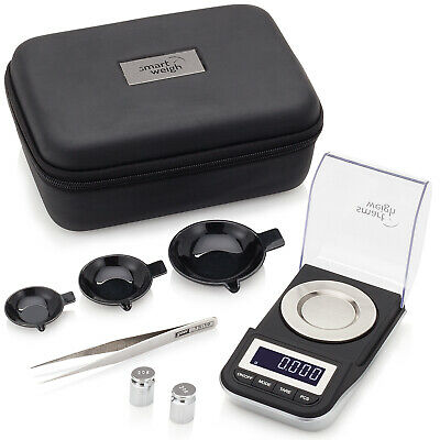 Smart Weigh 50g x 0.001g High Precision Jewelry Digital Scale