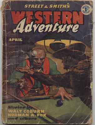 Western Adventure - Vol 2 No. 10  April 1958  - Pulp Street And Smith