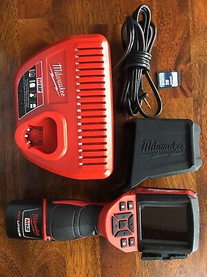 Milwaukee 2258-21 M12 Lithium-Ion Cordless Thermal Imager Imaging Tool 2258-20