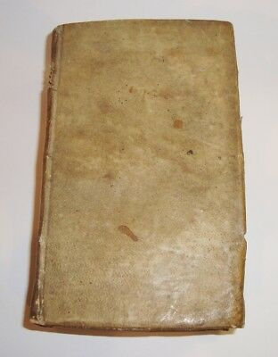 Rare 1654 J Mestrezat Sermons Protestant Book Prayer 17th Century Antique Vellum