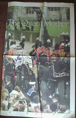 Daily Telegraph supplement Queen Mother funeral - April 2002