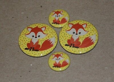 4 Foxes Magnets