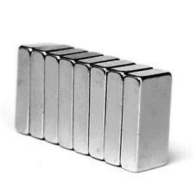 N50 Super Strong 10mm x 5mm x 3mm Neodymium Block Magnets - DIY MRO craft fridge