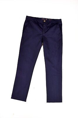 Harmont & blaine Made in Italy Trousers Pants SLIM Blue 15/16 Years 170/176 Cms