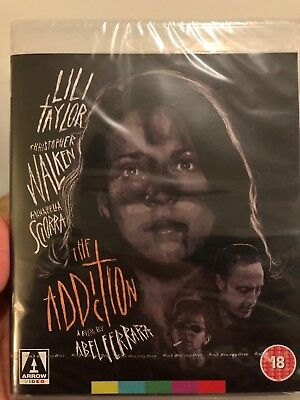The Addiction (UK IMPORT, All Region Disc) BLU-RAY NEW Brand New & Sealed