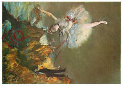 Picture Postcard:;Edgar Degas, The Ballerina Or Dancer On The Stage