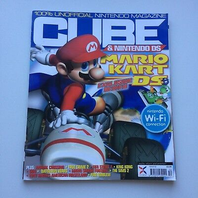 CUBE Magazine Issue 52 November 2005  : Mario Kart DS, VGC, Combined Post avail!
