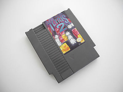 Tetris 2 (Nintendo/NES) Game Cartridge Tested & Works. Excellent Condition.