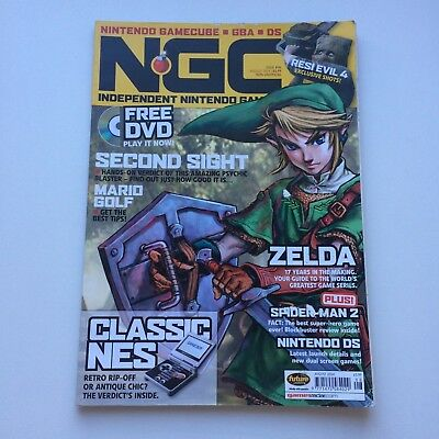 NGC Magazine August 2004 Issue #96 :The Zelda Issue, VGC, Combined postage!