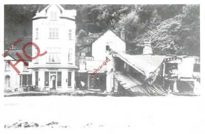 Picture Postcard:-Lynmouth Flood Disaster (Repro)