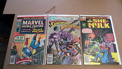 Huge comic book lot of 36 books. Mostly DC, Marvel - Bronze to modern age lot #2