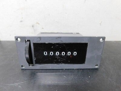 REDINGTON P2-1106 6 Digit Mechanical Counter -- 115VAC