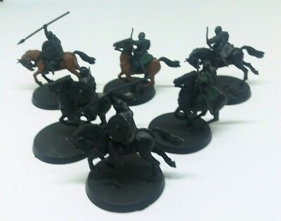 games workshop Lord of the rings 6 plastic riders of rohan lot 1