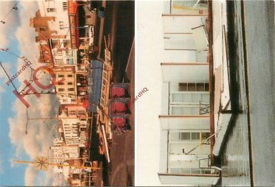 Picture Postcard-:The 1987 Hurricane, Damage To The Seafront, The Great Storm