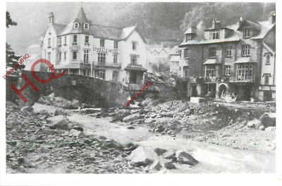 Picture Postcard, Lynmouth Flood Disaster (Repro)