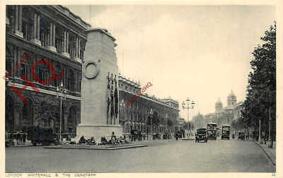 Picture Postcard: London, Whitehall And The Cenotaph [Photochrom]