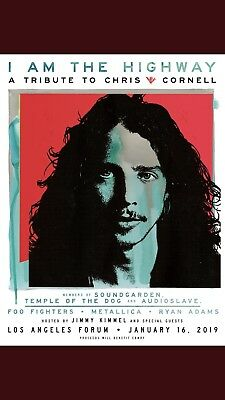 I Am The Highway -Chris Cornell Tribute Concert Ticket
