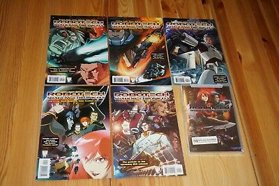 Robotech Comics Wildstorm, The Shadow Chronicles + DvD collector NEUF / NEW