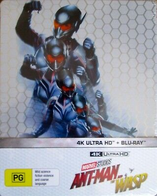 Ant man and the Wasp Steelbook 4K + Bluray, RB Brand new & sealed