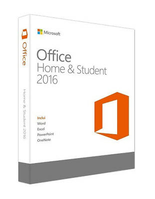 Microsoft Office 2016 Home & Student - Licence Key, Genuine & Legal
