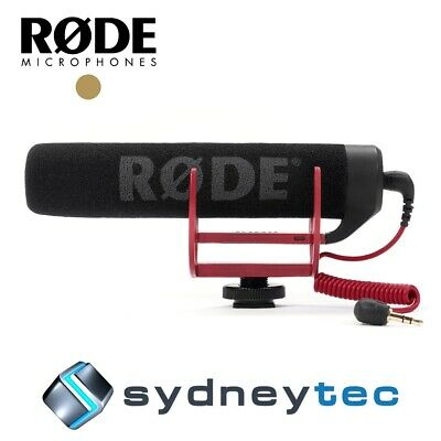 New Rode VideoMic GO Lightweight On-camera Shotgun Microphone (VMGO)