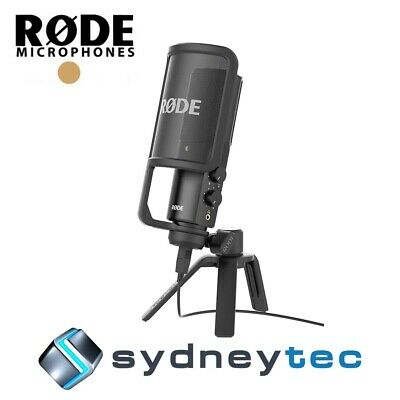 New Rode NT-USB Studio USB Condenser Microphone (NTUSB)