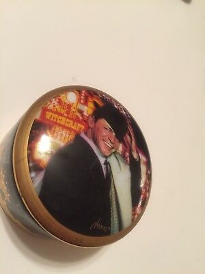 """FRANKLIN MINT FRANK SINATRA """"Witchcraft"""" LIMITED EDITION MUSIC BOX GOLD AA0777"""
