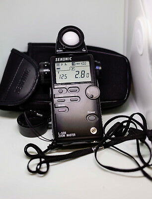 **** Sekonic L-508 ZOOM MASTER ********  Excellent Condition