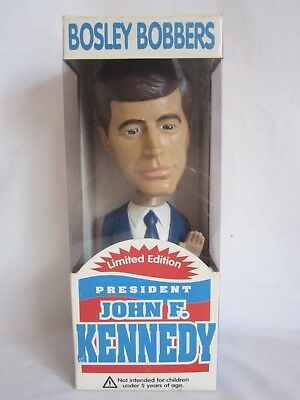 President John F. Kennedy Bosley Bobbers. limited edition, new and sealed (BH)