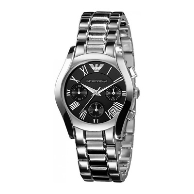 New Emporio Armani Ar0674 Ladies Steel Watch - 2 Years Warranty - Certificate