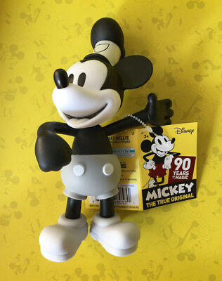 Mickey Mouse Steamboat Willie 90 Years of Magic - Collectible Poseable Figure