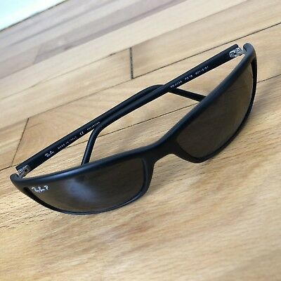 6efe998420af00 Rayban Ray-ban Sunglasses RB4034 PS18 601-S 81 Black Italy Polarized