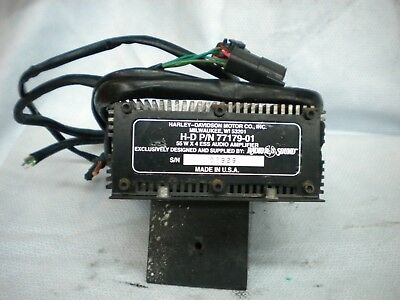 Harley-Davidson 55W Rms Power 4 Channel Ess Audio Amplifier 77179-01