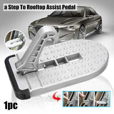 Doorstep Vehicle Access Roof Car Auto Door Step Latch Easily Rooftop Pedal PP