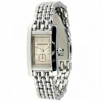 New Emporio Armani Ar0107 Ladies Watch - 2 Year Warranty - Certificate