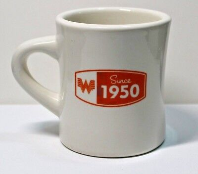 "Vintage WHATABURGER ""Since 1950""  Diner Style Coffee Mug Collectible"