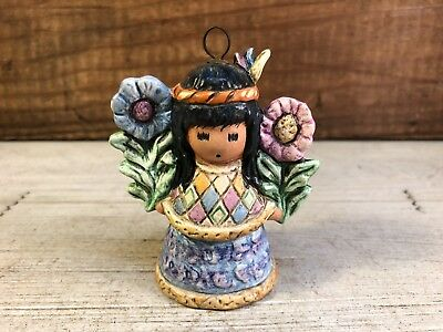 "DeGrazia Goebel Annual 1997 ""Little Cocopah Indian Girl"" Ornament 14th Ed."