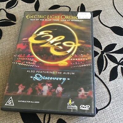 Electric Light Orchestra. Live At Wembley Dvd.