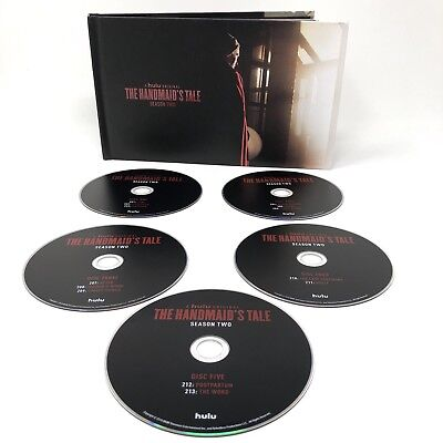 THE HANDMAID'S TALE Season 2 HULU 5 DVD Set 13 Episodes FYC 2018 Elisabeth Moss
