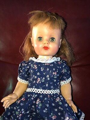 """VINTAGE 16"""" MULTI JOINTED DOLL by EEGEE"""