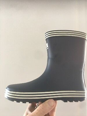 Kids Gumboots, Country Road, unisex, blue/white, size 34