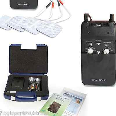 PHYSIO TENS  machine 8 pads, Easy to Use unit, physio support, rebates, chart