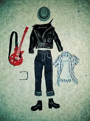 Ava Stars Rock Star Clothes And Accessories Fit Barbie And Ken Dolls